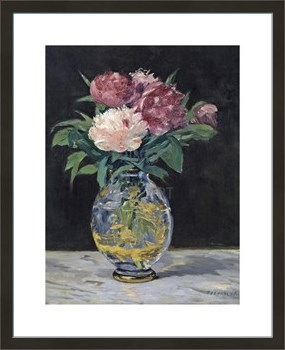 Bouquet de Pivoines, 1882 Fine Art Print by Edouard Manet
