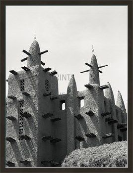 African Architecture Print by Andrew Geiger