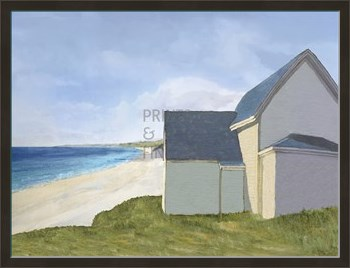 A Day by the Sea Print by Mark Chandon
