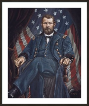 Ulysses Simpson Grant Fine Art Print by William Meijer
