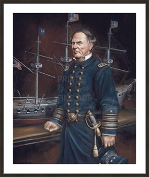 David Glasgow Farragut Fine Art Print by William Meijer
