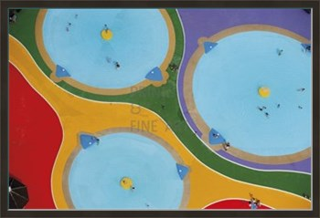 Pool Puzzle Print by Jason Hawkes