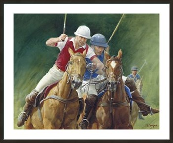 Polo Fine Art Print by Susan Crawford
