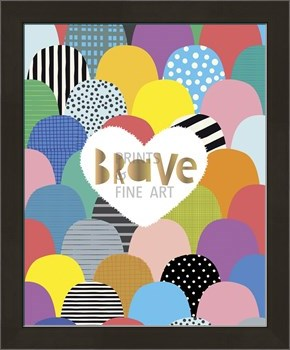 Bright Is Brave Print by Sophie Ledesma