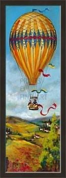 Air Balloon III Print by Georgie