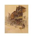Old English Inns, The Old George Inn, Salisbury by Cecil Aldin