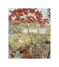 Garden with Red Tree by Pierre Bonnard