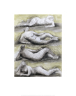 Four Reclining Nudes, 1979 by Henry Spencer Moore