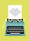 Typewriter Kiss by Nadia Taylor