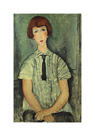 Young Girl by Amedeo Modigliani