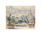 Terrace at the Garden at Les Lauves, 1902-1906 by Paul Cezanne