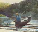 Boy Fishing, 1892 by Winslow Homer