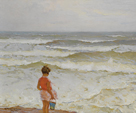 Girl by the Seashore by Charles Atamian