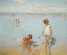 Children by the Sea by Charles Atamian