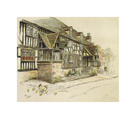 Old English Inns, The Talbot Inn, Chaddesley Corbett by Cecil Aldin