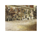 Old English Inns, Anchor Inn, Liphook by Cecil Aldin