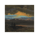 Sunset Across the Hudson Valley, New York by Frederic Edwin Church