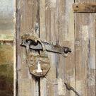 Long Barn - Barn Door by Mark Chandon