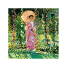Hollyhocks, c.1912-1913 by Frederick Carl Frieseke