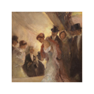 At the Opera by Gaston La Touche