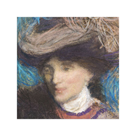 Portrait of Lady with Hat by Edmond Aman-Jean
