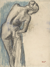 Bather Drying Herself by Edgar Degas