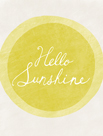 Hello Sunshine by Lottie Fontaine