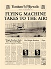 Flying Machine Takes To The Air! by The Vintage Collection