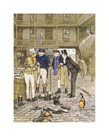 Court Yard Chat by Cecil Aldin