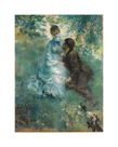 The Lovers, c1875 by Pierre Auguste Renoir