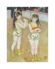 Acrobats at the Cirque Fernando (Francisca and Angelina Wartenberg), 1879 by Pierre Auguste Renoir