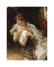 A Lady from Naples by Giuseppe De Nittis