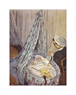 The Cradle - Camille with the Artist's Son Jean, 1867 by Claude Monet