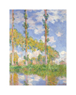 Poplars in the Sun, 1891 by Claude Monet
