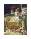 Woman with a Fan, c.1878-1879 by Mary Stevenson Cassatt