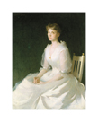 Portrait in White, 1889 by Frank Weston Benson