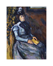Seated Woman in Blue, 1902-1904 by Paul Cezanne