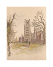 Ely Cathedral by Cecil Aldin