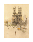 Westminster Abbey by Cecil Aldin