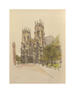 York Minster by Cecil Aldin