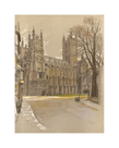 Canterbury Cathedral by Cecil Aldin