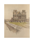 Wells Cathedral by Cecil Aldin