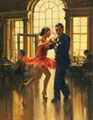 Dance to the Music by Raymond Leech