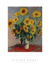 Bouquet of Sunflowers - Focus by Claude Monet