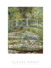 Bridge over a Pond of Water Lilies - Focus by Claude Monet