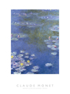 Water Lilies At Giverny - Focus by Claude Monet