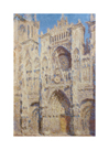 Rouen Cathedral. The portal and the Tour Saint-Romain, Full Sun, 1893 by Claude Monet