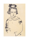 Portrait of Maria Steiner, 1918 by Egon Schiele