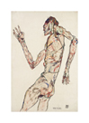 Dancer by Egon Schiele