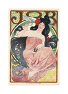 Job Cigarette Paper by Alphonse Mucha